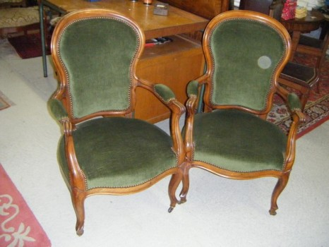 Art et style fauteuil napol on iii for Meuble style napoleon 3